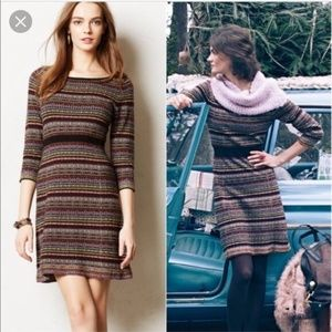 Sparrow Clara Fair Isle Stripe Sweater Dress